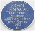 Image for John Lennon - Montagu Square, London, UK