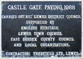 Image for Castle Gate Paving - Castle Gate, Lewes, UK