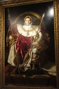 Image for Painting of Napoleon I in the Musee de l'Armee -  Paris, France