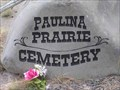 Image for Paulina Prairie (Rease) Cemetery, OR