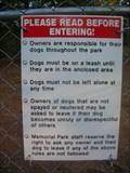 Image for Memorial Park Dog Area