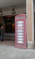 Image for Red Telephone Box in Aosta, Italy