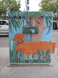 Dog Walker, Non-street Side, San Jose, CA