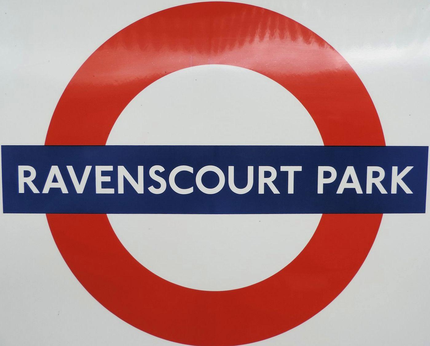 Ravenscourt Park Underground Station Ravenscourt Road London Uk