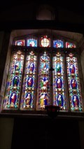 Image for Stained Glass Windows - St Andrew - Wroxeter, Shropshire