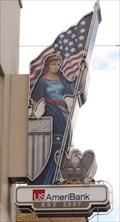Image for Lady Columbia Neon - Ybor City, Florida, USA.