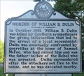 Image for Murder of William B. Dulin