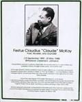 """Image for Festus Claudius """"Claude"""" McKay - Ocho Rios, Jamaica"""
