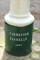 Image for Le Poteau du Carrefour Isabelle dans la forêt d'Eu - 1897 - Monchy-sur-Eu, France