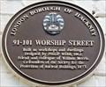 Image for 91-101 Worship Street - Worship Street, London, UK