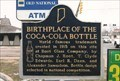 Image for Marker: Birthplace of the Coke Bottle - Terre Haute, Indiana