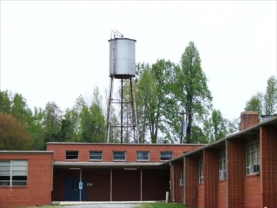 Cedar Grove School Tank, Hillsborough NC   Water Towers On Waymarking.com