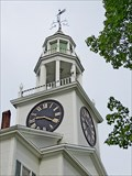 Image for First Church of Belfast Clock - Belfast, ME
