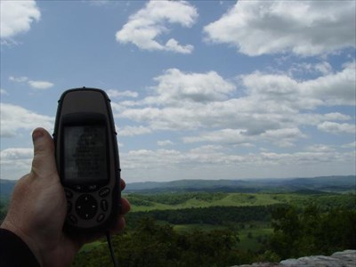 My GPSer at the Overlook