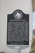 Image for Blackwell School