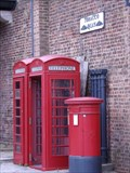 Image for Two Red Telephone Boxes - Tobacco Dock, London, UK