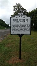 Image for First Court of Scott County ~ Scott County, Virginia