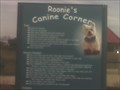 Image for Roonie's Canine Corner