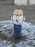 Image for Cec's Autopro Painted Hydrant - Peace River, Alberta