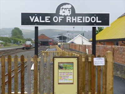 Lord Abercrombie visited Vale of Rheidol, Aberystwyth, Ceredigion, Wales, UK
