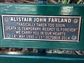 Image for Alistair Farland, bench - Balmoral Beach, NSW, Australia