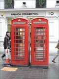 Image for Red Telephone Boxes - Argyll Street, London, UK