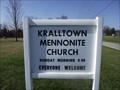Image for Kralltown Mennonite Church / Cemetery,York County, Pennsylvania