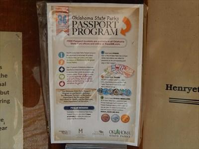 Oklahoma State Parks Passport Program