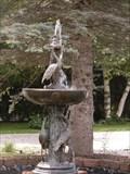 Image for La fontaine aux  5 Grues d'Amérique.  -Boisbriand.   -Québec.