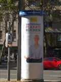 Image for Concrete Advertising Column - Hansemannplatz - Aachen - NRW - Germany