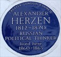 Image for Alexander Herzen - Orsett Terrace, London, UK