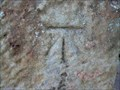 Image for Cut Bench Mark at All Saints Church, Herstmonceux, Sussex