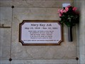Image for Mary Kay Ash -- Sparkman/Hillcrest Memorial Park, Dallas, TX