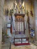 Image for WWI Memorial, St Mary the Virgin (Tewkesbury Abbey), Tewkesbury, Gloucestershire, England