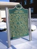 Image for Holland Post Office Historical Marker - Holland, MI