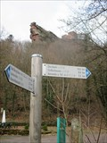 Image for Wegweiser Parkplatz Trifels (Schlossäcker) Annweiler/Germany