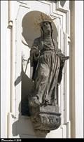 Image for St. Monica on St. Thomas Church / Sv. Monika na kostele Sv. Tomáše - Moravské námestí (Brno)