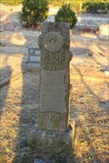 Image for W. H. Dotson -- Chalk Mountain Cemetery, Somervell Co. TX