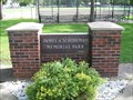 Image for Ballfield, James Schomeman Memorial Park, Porter, Minnesota
