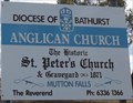 Image for St Peter's Anglican Cemetery - Mutton Falls, NSW, Australia