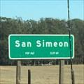 Image for San Simeon, California ~ Elevation 60 ft.