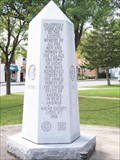 Image for Veterans' Memorial - Lyons, New York