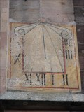 Image for Sundial Martin-Luther-Kirche Schwabach, Germany, BY
