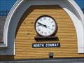 Image for Conway Train Station Town Clock - North Conway, NH