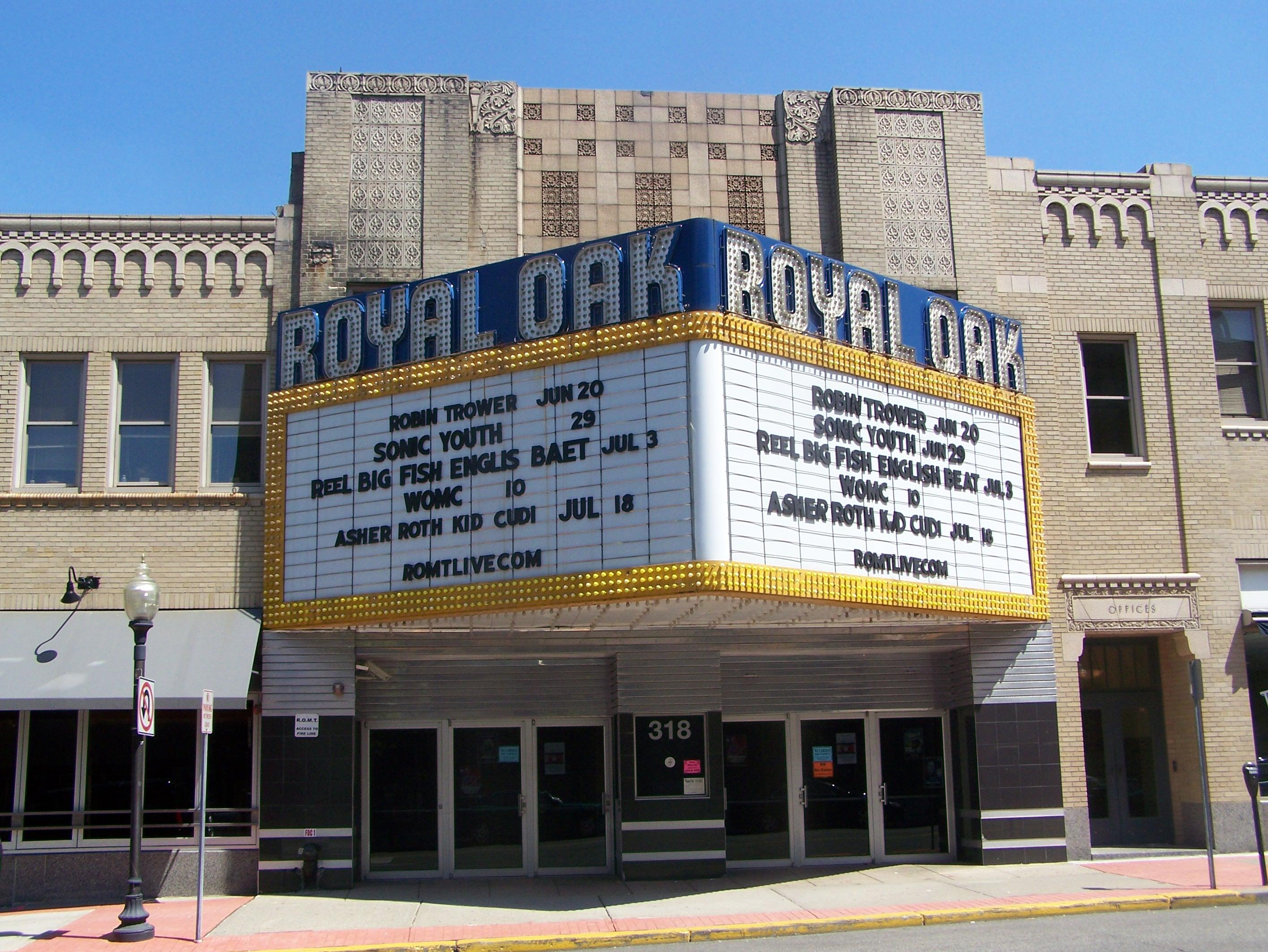 Royal Oak Music Theatre Royal Oak Mi Image