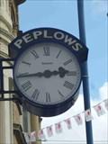 Image for Clock, Peplow's, Stourbridge, West Midlands, England