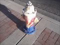 Image for Arizona State Flag Fire Hydrant - Glendale AZ