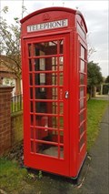 Image for Red Telephone Box - Main Street - Broomfleet, East Riding of Yorkshire