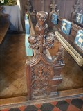 Image for Medieval bench ends - St Andrew - Barningham, Suffolk