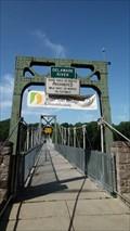 Image for Lumberville-Raven Rock Footbridge - Delaware River - Suspension Bridge